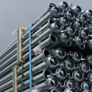 Tubazioni in acciaio zincato